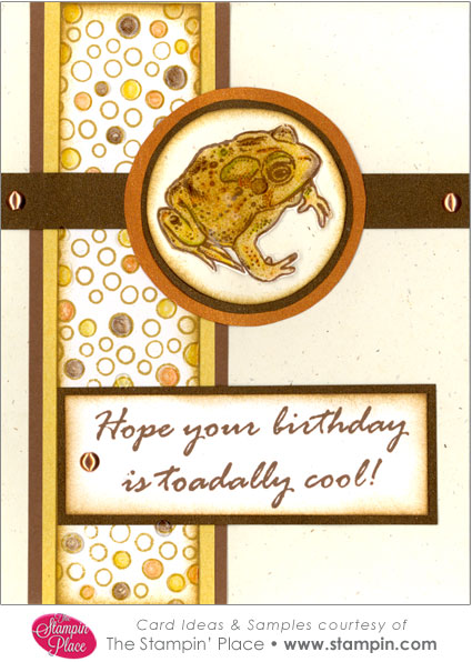 Toadally Cool Birthday